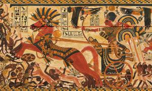 Egyiptomi harci szekér
