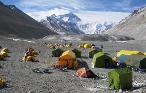 Mount Everest alaptábor