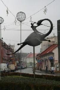 Sepsiszentgyörgy Szent György-szobor4