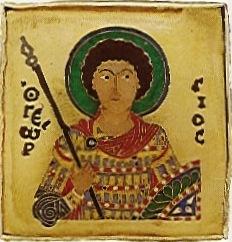 Szent György a Szent Koronán