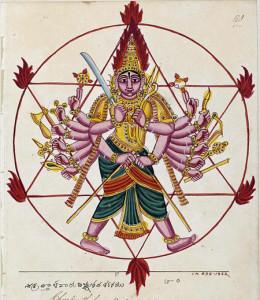Chakra_ayudhapurusha
