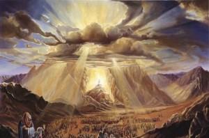 mozes a sinai hegyen