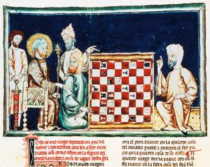 Andalúziai mórok sakkoznak