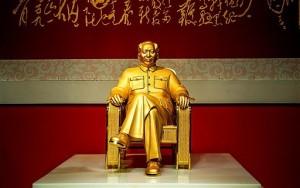 arany Mao-szobor