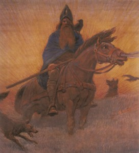 Odin, a germánok felséges istene2