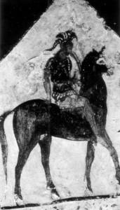 dél-itáliai sírfestmény Kr.e.4.sz