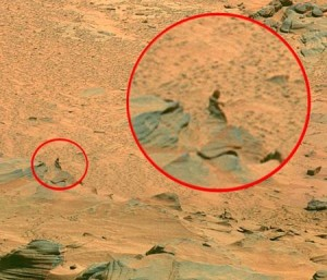 pareidolia nő a Marson
