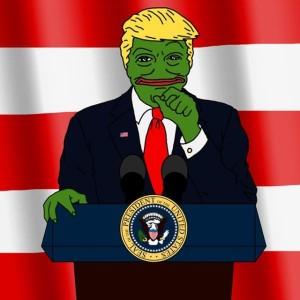 Trump béka